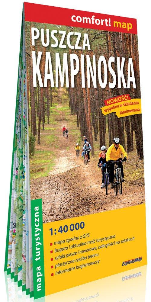 Comfort!map Puszcza Kampinoska - okładka książki