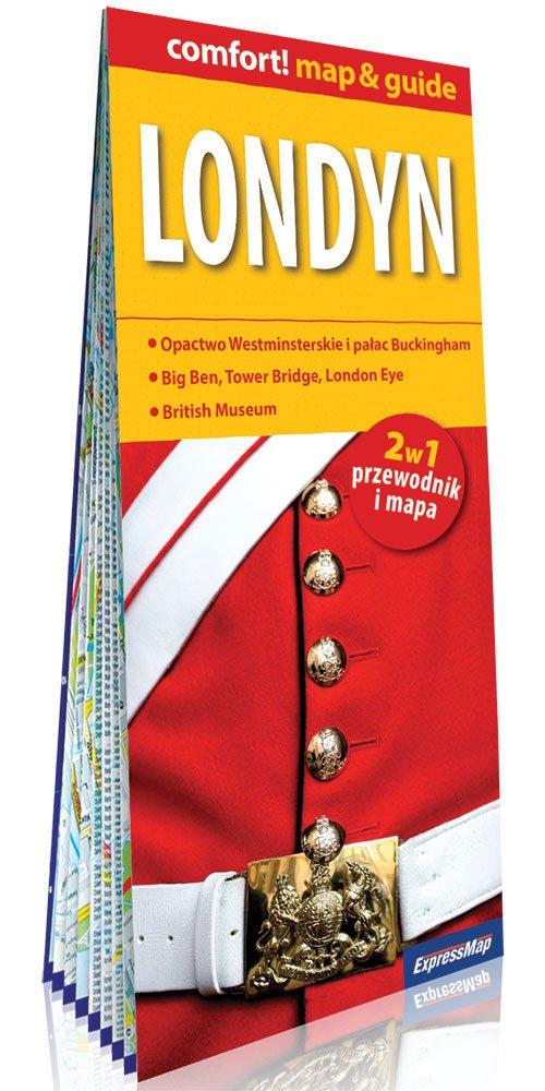 Comfort!map&guide Londyn 2w1 - okładka książki