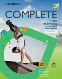 Complete First for Schools B2 Students - okładka podręcznika