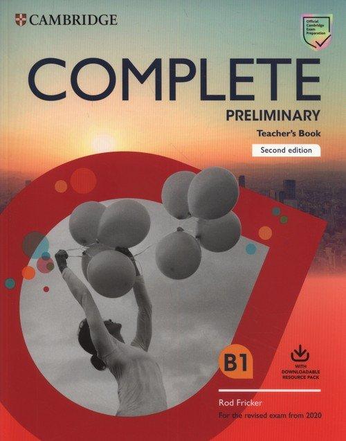 Complete Preliminary Teachers Book - okładka podręcznika