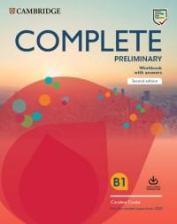 Complete Preliminary Workbook with - okładka podręcznika