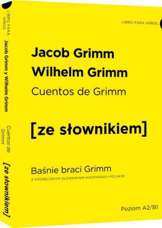 Cuentos de Grimm - Baśnie braci - okładka książki