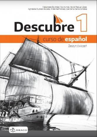Descubre 1 Zeszyt ćwiczeń (+ CD) - okładka podręcznika
