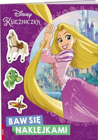 Disney Księżniczka. Baw się Naklejkami - okładka książki