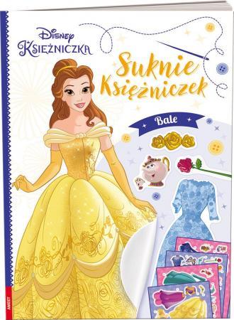 Disney Księżniczka. Suknie księżniczek. - okładka książki