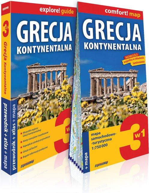 Explore! guide Grecja Kontynentalna - okładka książki