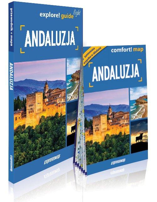 Explore! guide light Andaluzja - okładka książki