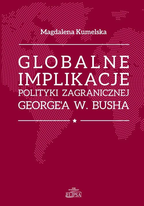 Globalne implikacje polityki zagranicznej - okładka książki