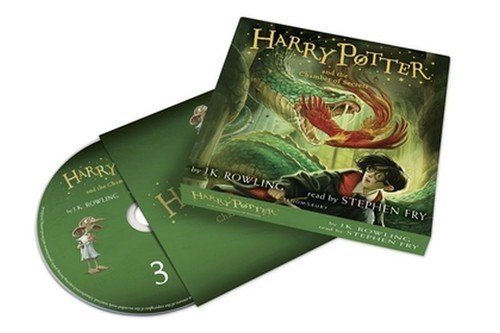 Harry Potter and the Chamber of - pudełko audiobooku