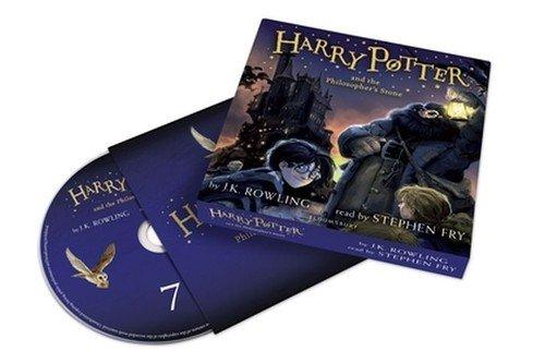 Harry Potter and the Philosophers - pudełko audiobooku