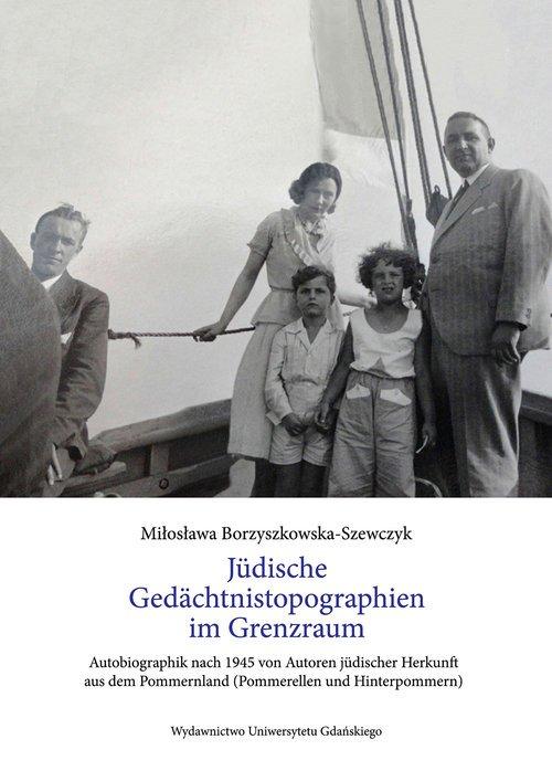 Jüdische Gedächnistopographinen - okładka książki