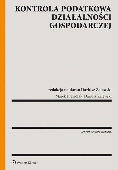 Kontrola podatkowa działalności - okładka książki