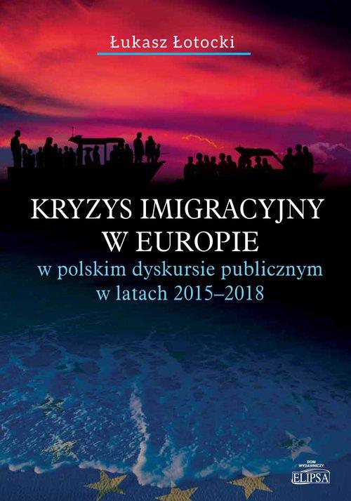 Kryzys imigracyjny w Europie w - okładka książki