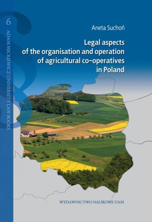 Legal aspects of the organisation - okładka książki