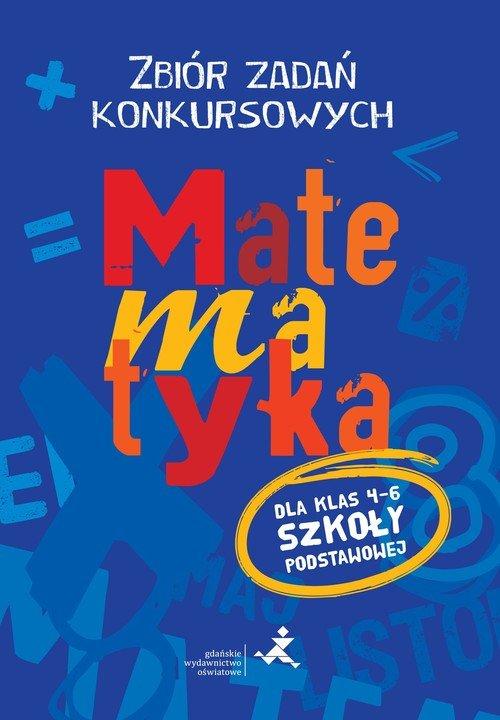 Matematyka. Zbiór zadań konkursowych. - okładka podręcznika