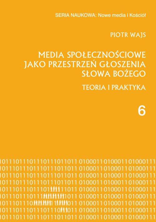 Media społecznościowe jako przestrzeń - okładka książki