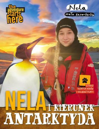 Nela i kierunek Antarktyda - okładka książki