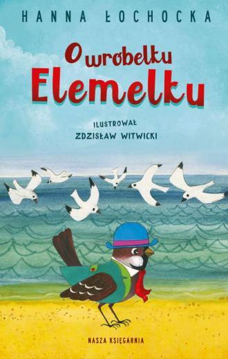 O wróbelku Elemelku - okładka książki