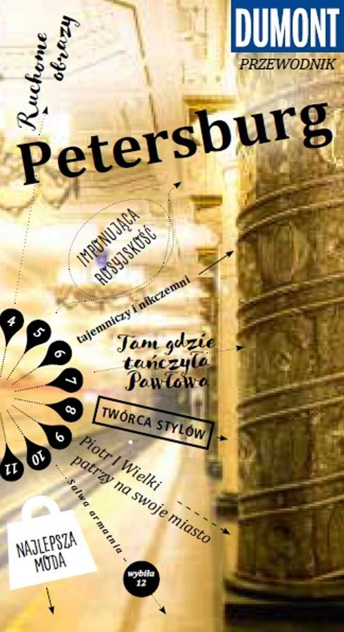 Petersburg. Przewodnik Dumont z - okładka książki