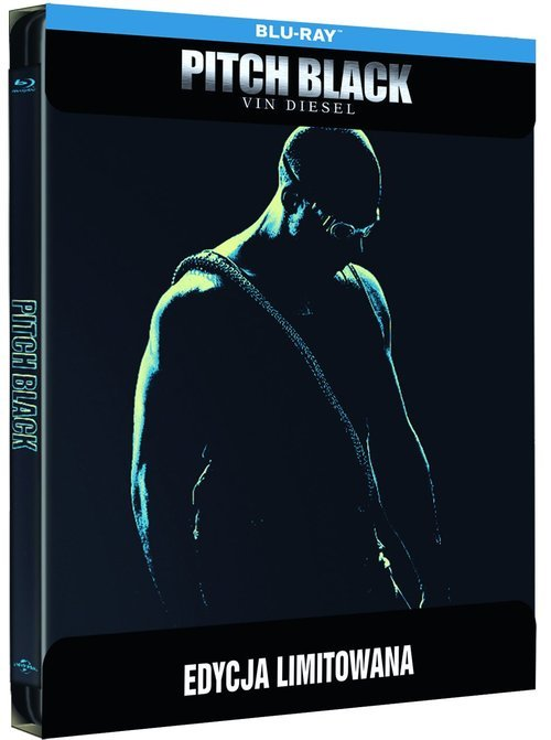 Pitch Black (Steelbook) Blu-ray - okładka filmu