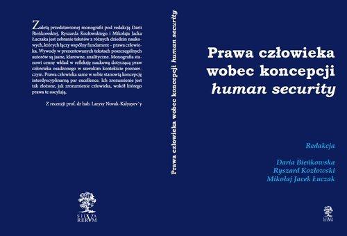 Prawa człowieka wobec koncepcji - okładka książki