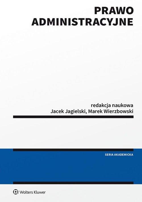 Prawo administracyjne - okładka książki