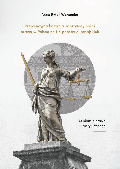 Prewencyjna kontrola konstytucyjności - okładka książki