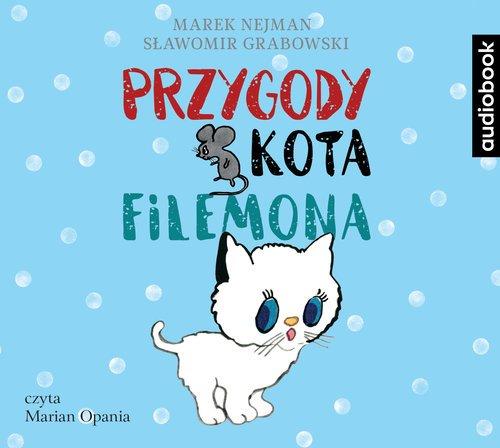Przygody kota Filemona CD - okładka płyty