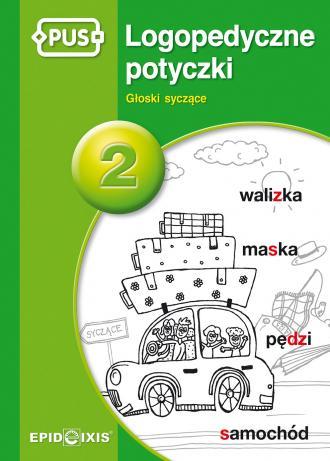 PUS Logopedyczne potyczki 2. Głoski - okładka książki