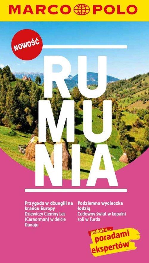 Rumunia. Przewodnik Marco Polo - okładka książki