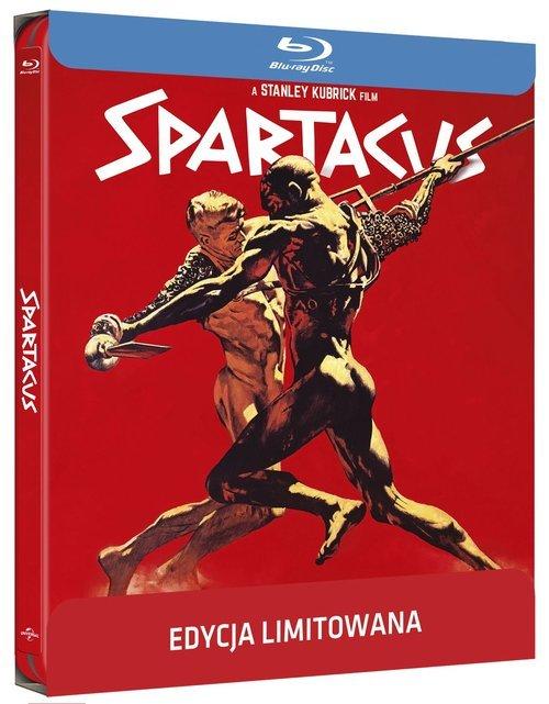 Spartakus (Steelbook) Blu-ray - okładka filmu