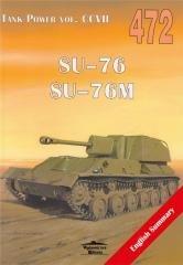 SU-76. SU-76M. Tank Power vol. - okładka książki