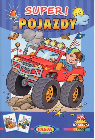 Super! Pojazdy - okładka książki