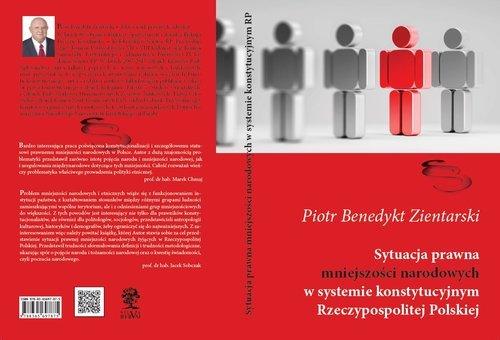 Sytuacja prawna mniejszości narodowych - okładka książki