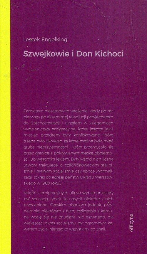 Szwejkowie I Don Kichoci - okładka książki