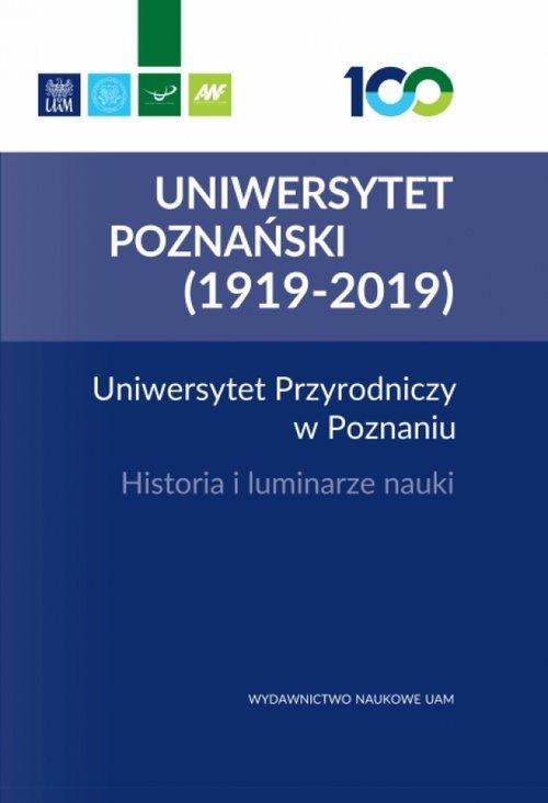 Uniwersytet Przyrodniczy w Poznaniu. - okładka książki