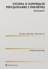 Ustawa o zawodach pielęgniarki - okładka książki