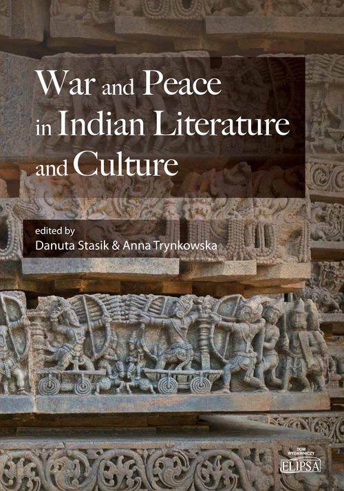 War and Peace in Indian Literature - okładka książki
