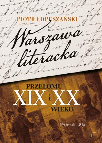 Warszawa literacka przełomu XIX - okładka książki