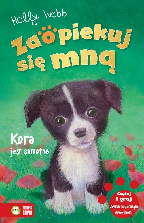 Zaopiekuj się mną Kora jest samotna - okładka książki