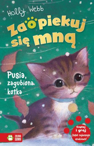 Zaopiekuj się mną Pusia zagubiona - okładka książki
