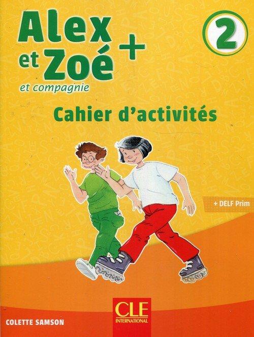 Alex et Zoe + 2 ćwiczenia - okładka podręcznika