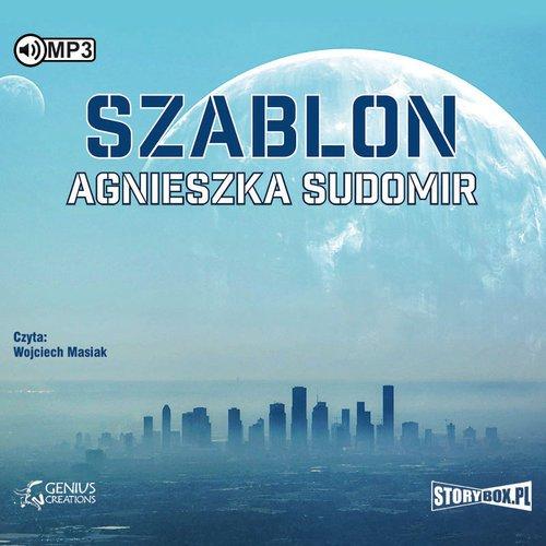Szablon (CD mp3) - pudełko audiobooku