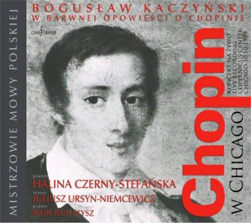 Chopin w Chicago - okładka płyty