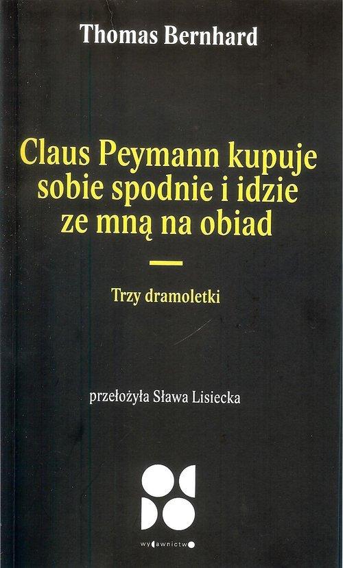 Claus peymann kupuje sobie spodnie - okładka książki