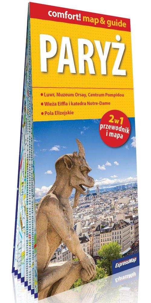 Comfort! map&guide Paryż 2w1 - okładka książki