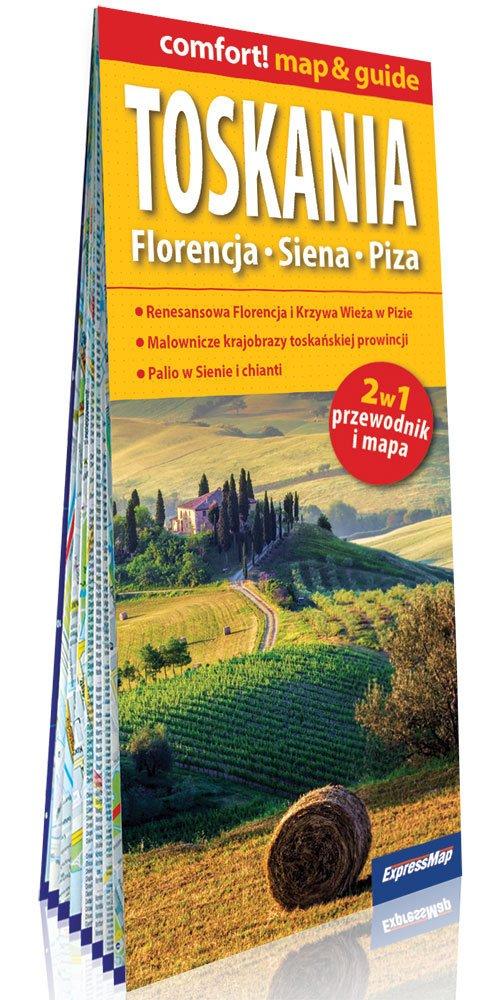 Comfort! map&guide Toskania 2w1 - okładka książki