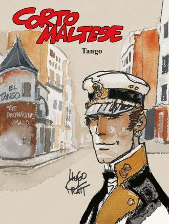 Corto Maltese - Tango. Tom 10 - okładka książki