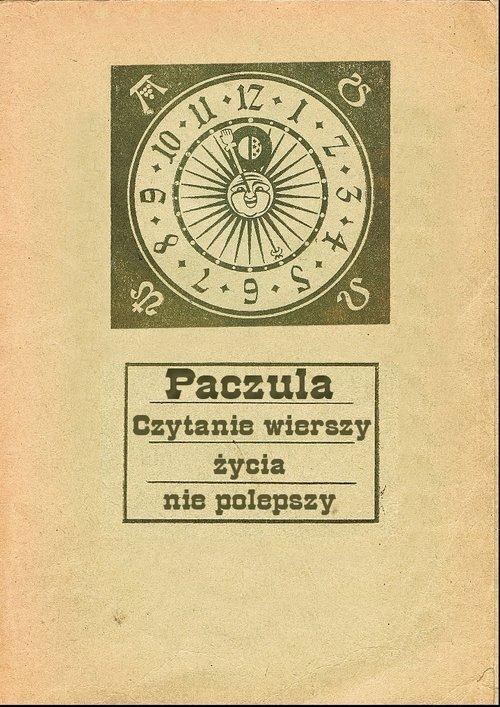 Czytanie wierszy życia nie polepszy - okładka książki