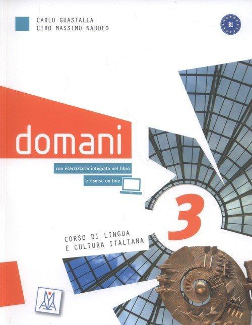Domani 3 Corso di lingua e cultura - okładka podręcznika